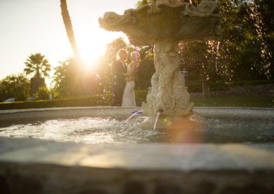 NM Bride & Groom Fountain